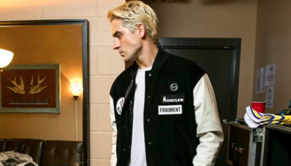 SPOTTED: G-Eazy Rocks Moncler x Fragment Design Jacket