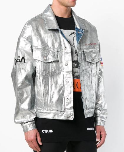 HERON PRESTON Heron Preston x Nasa astronaut jacket