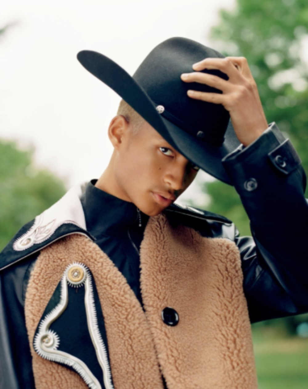 SPOTTED: Jaden Smith in Louis Vuitton and Givenchy on VMAN's 40th Issue Cover