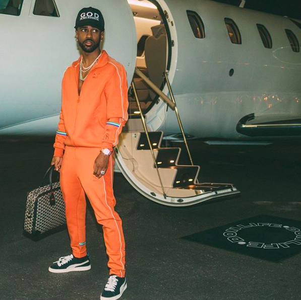 SPOTTED: Big Sean Wears His Own Collaborative Tracksuit With PUMA