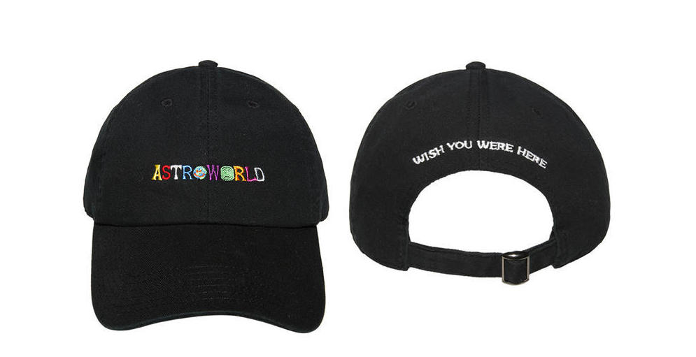 A Look At Travis Scott's Limited Edition AstroWorld Merch Collection