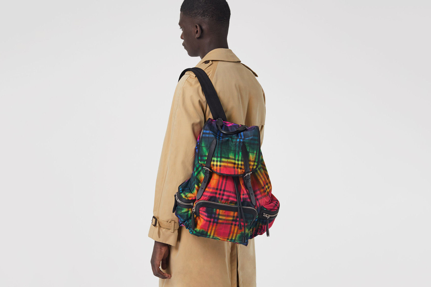 Burberry Follows the Tie-Dye Trend With Their Latest Rucksack