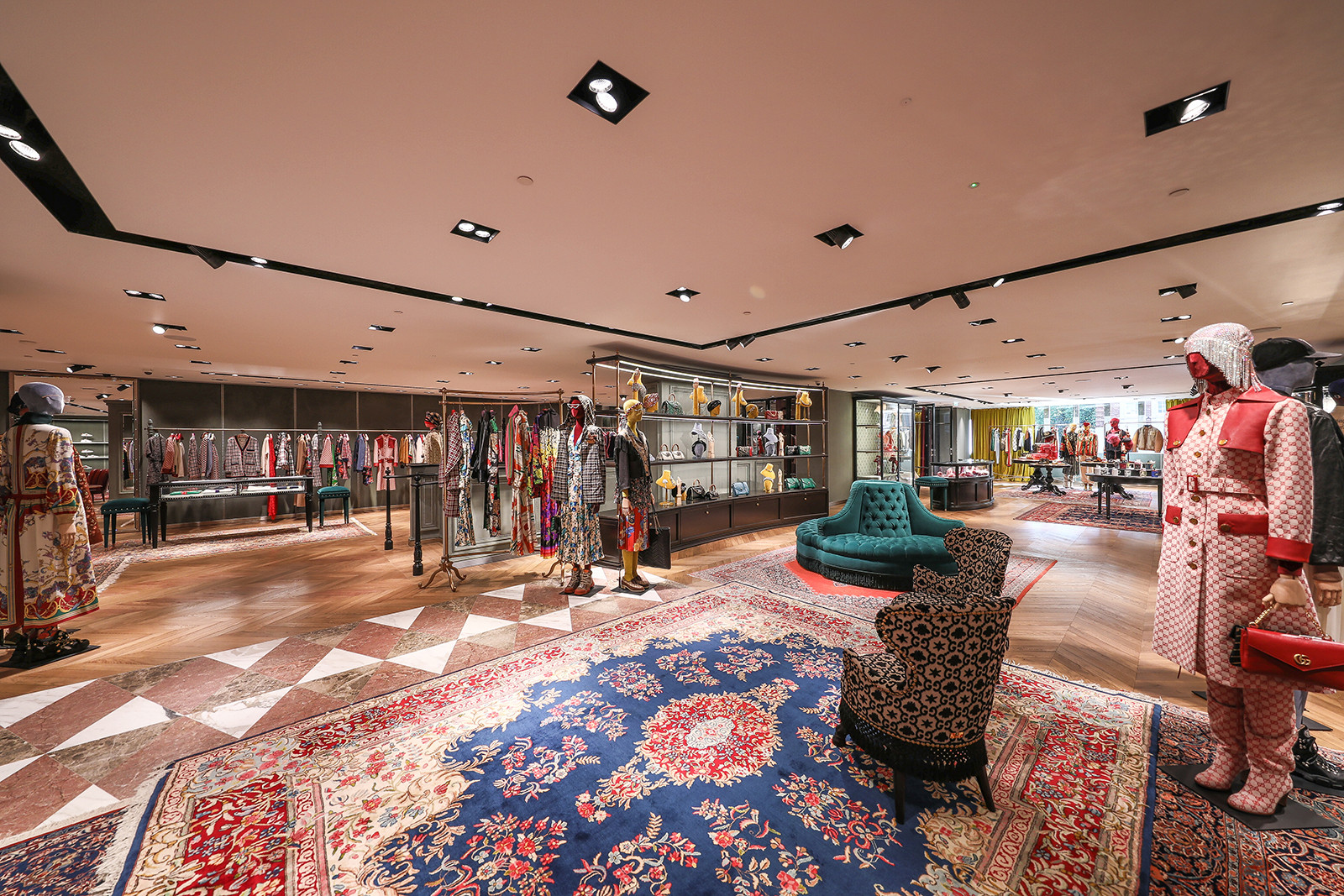 Take a Look at Gucci's Revamped Flagship Store in London