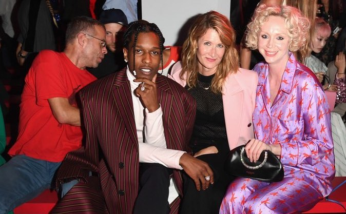 SPOTTED: ASAP Rocky Front Row at the Calvin Klein Show