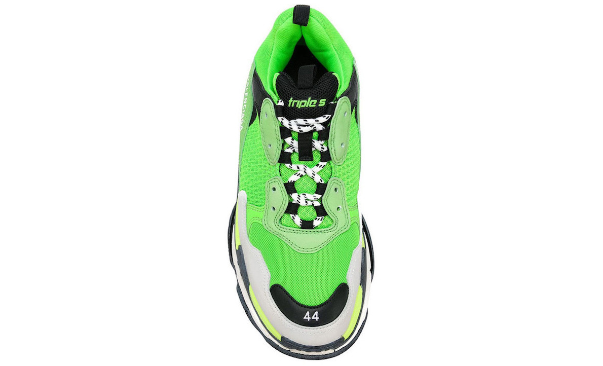 Balenciaga's Triple S Sneaker Receives a Green & Black Update