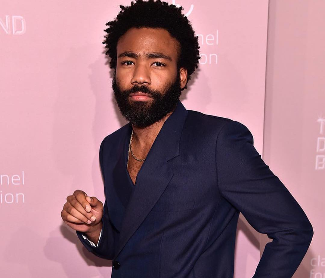 SPOTTED: Donald Glover Rocks Dior Suit to the Diamond Ball