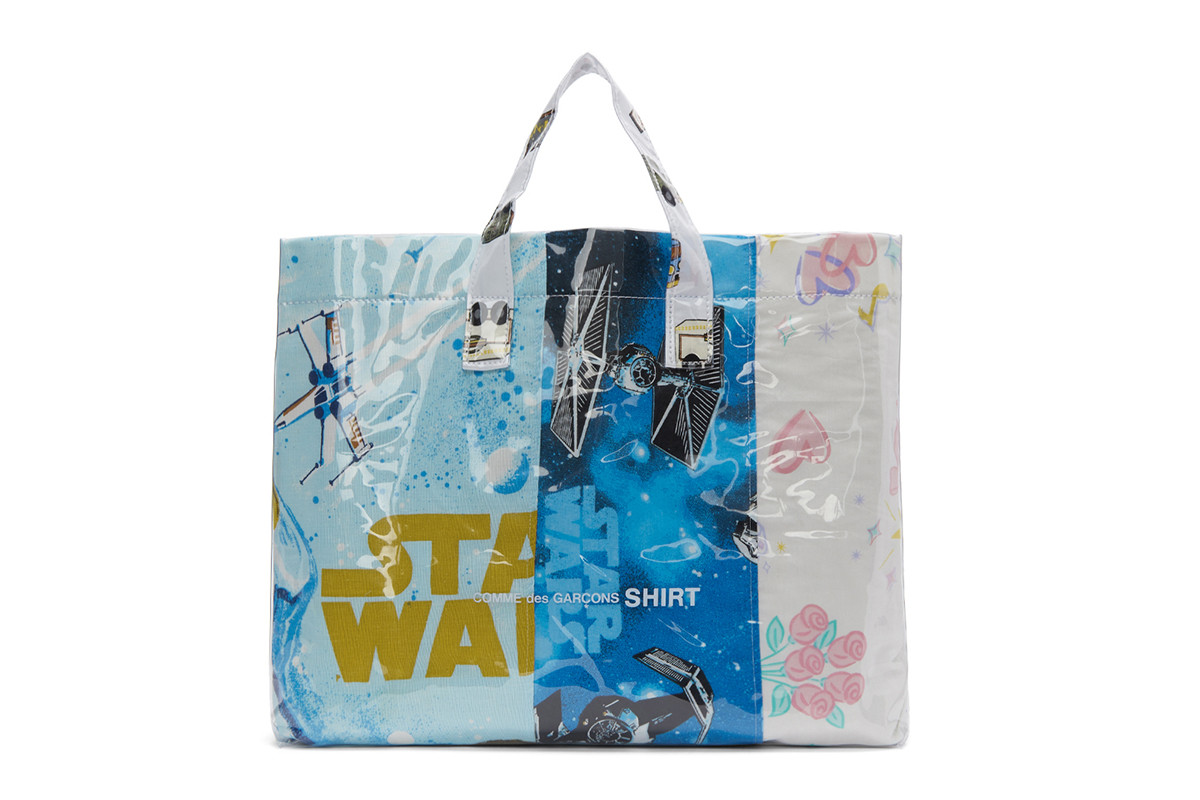 COMME des GARÇONS SHIRT Fuses Star Wars and Barbie with New Tote