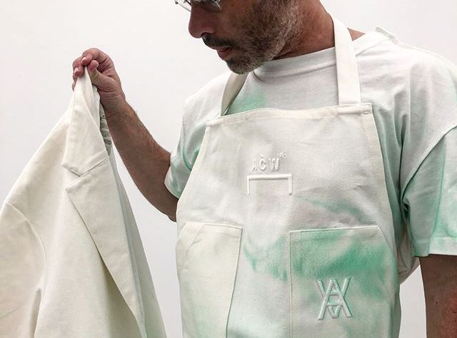 Daniel Arsham Teases Studio Uniforms Designed By Samuel Ross from A-COLD-WALL*