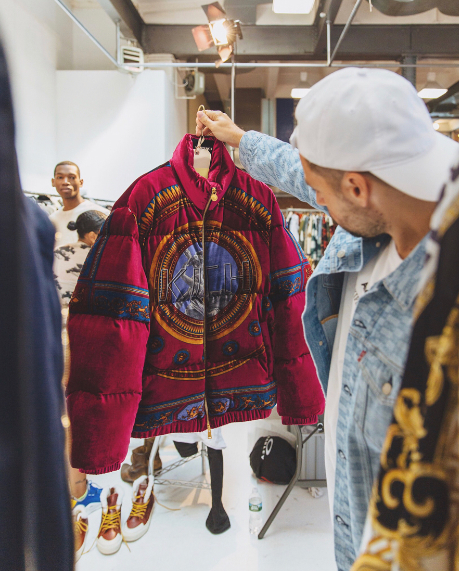 Ronnie Fieg Reveals Upcoming KITH x Versace Collab
