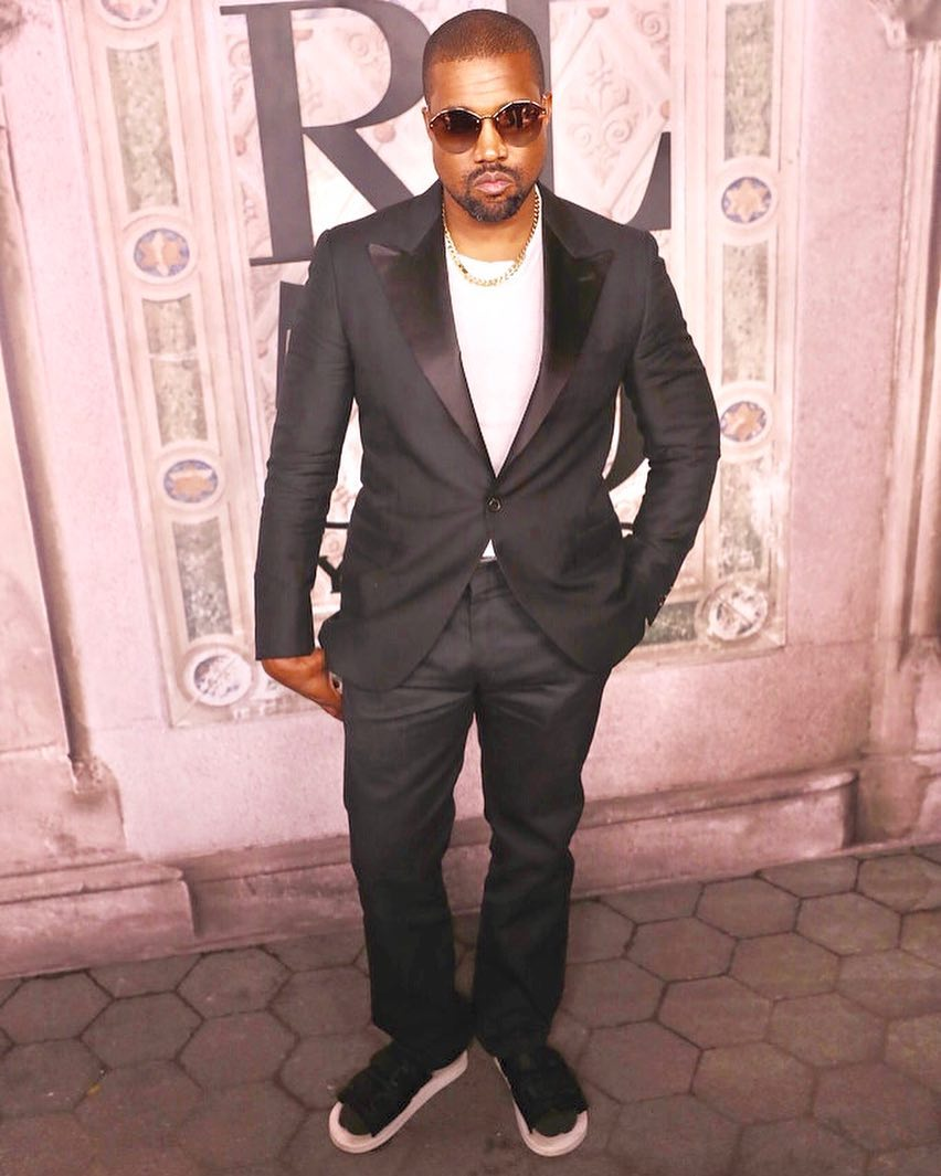 SPOTTED: Kanye West Sports Ralph Lauren at the Label's 50th-NYFW Party