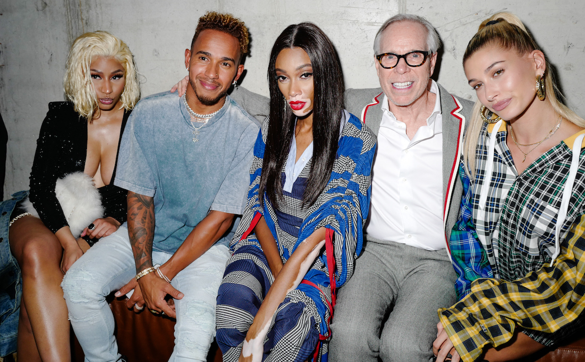 Tommy Hilfiger Launches TommyxLewis Collection in New York City