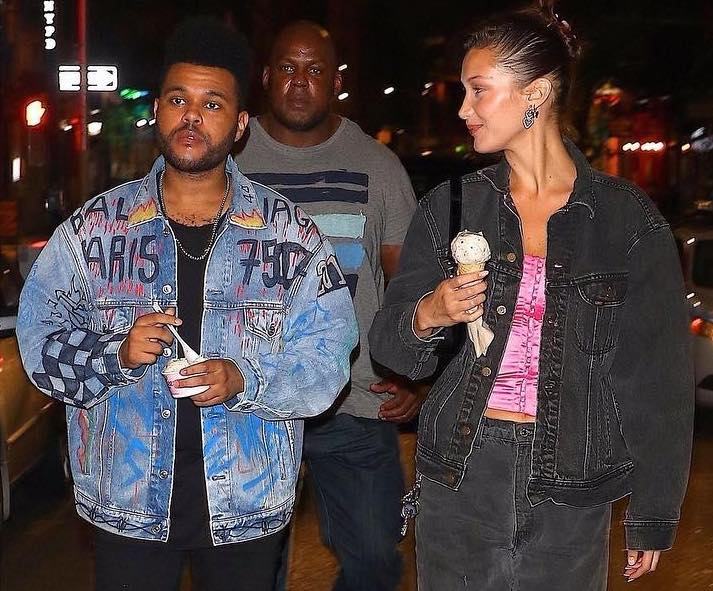 SPOTTED: The Weeknd & Bella Hadid Take a Stroll