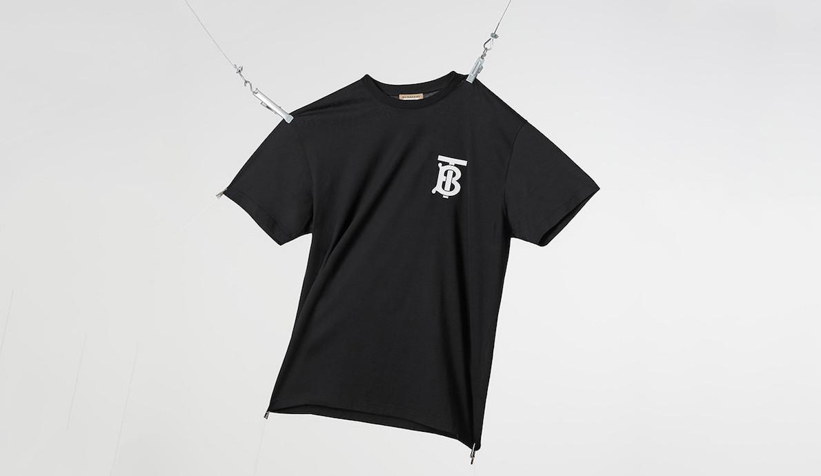 "Riccardo Tisci Reveals New ""Thomas Burberry Monogram"" T-Shirt"