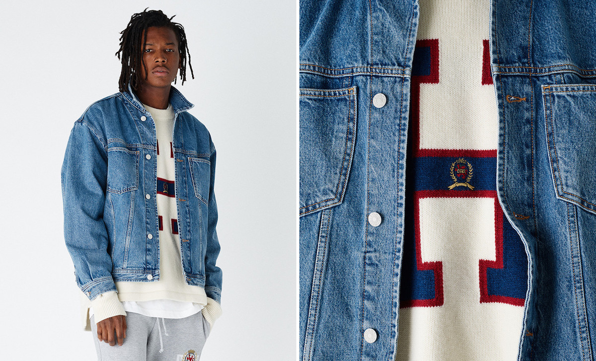 A Look at the 90's Inspired Tommy Hilfiger x KITH AW18 Lookbook