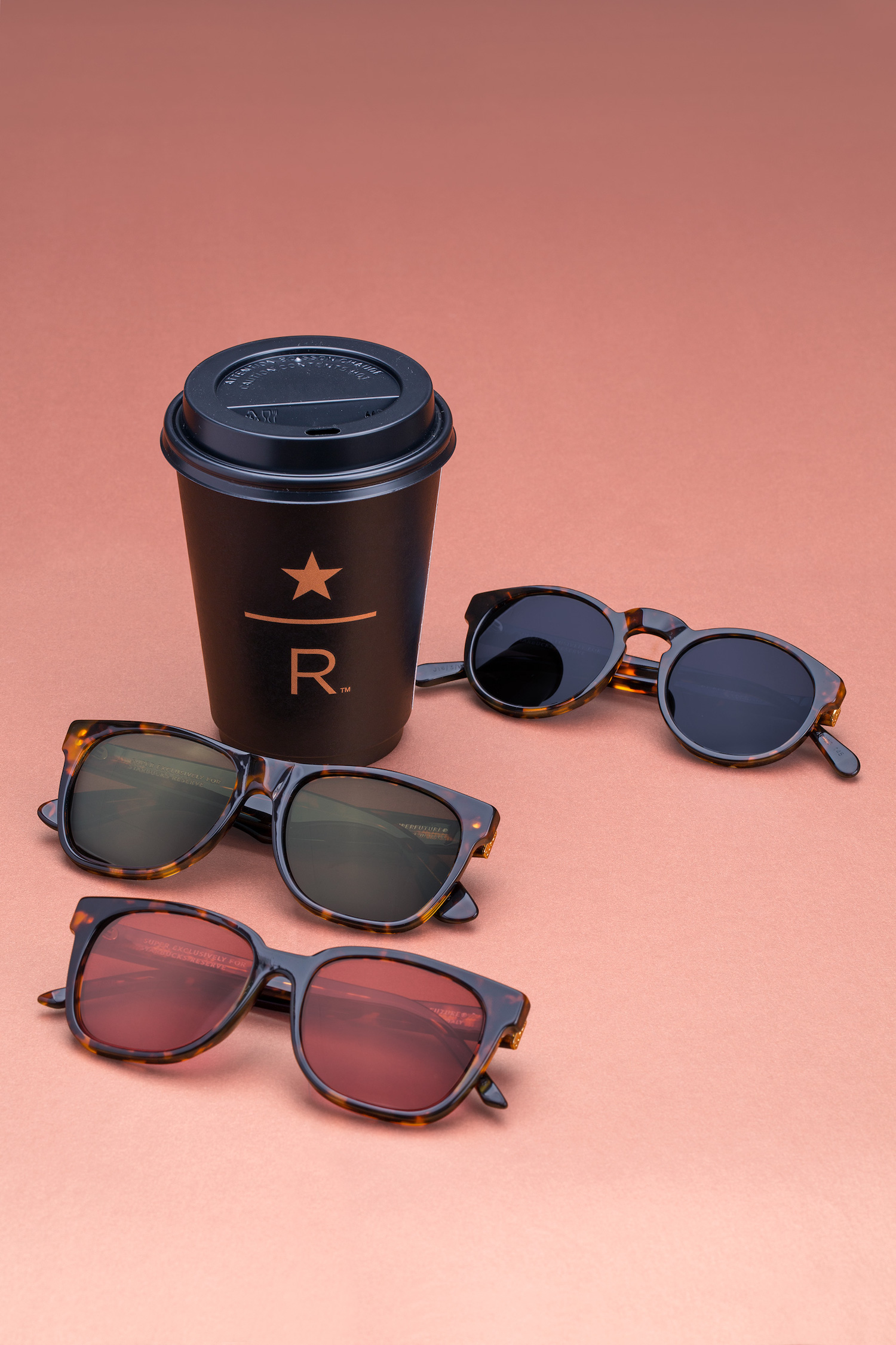 SUPER by RETROSUPERFUTURE Partner with Starbucks for Sunglasses Capsule