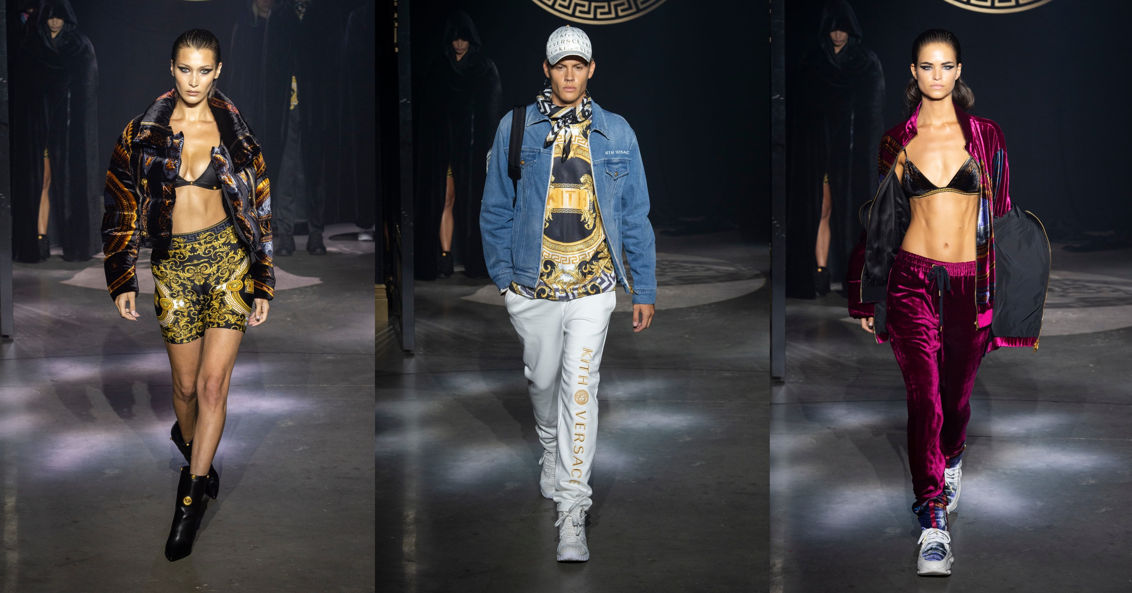 KITH and Versace Debut Their Collaborative Collection at NYFW
