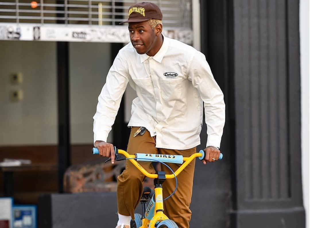 SPOTTED: Tyler, The Creator Crusing in Converse, Stray Rats and Carhartt