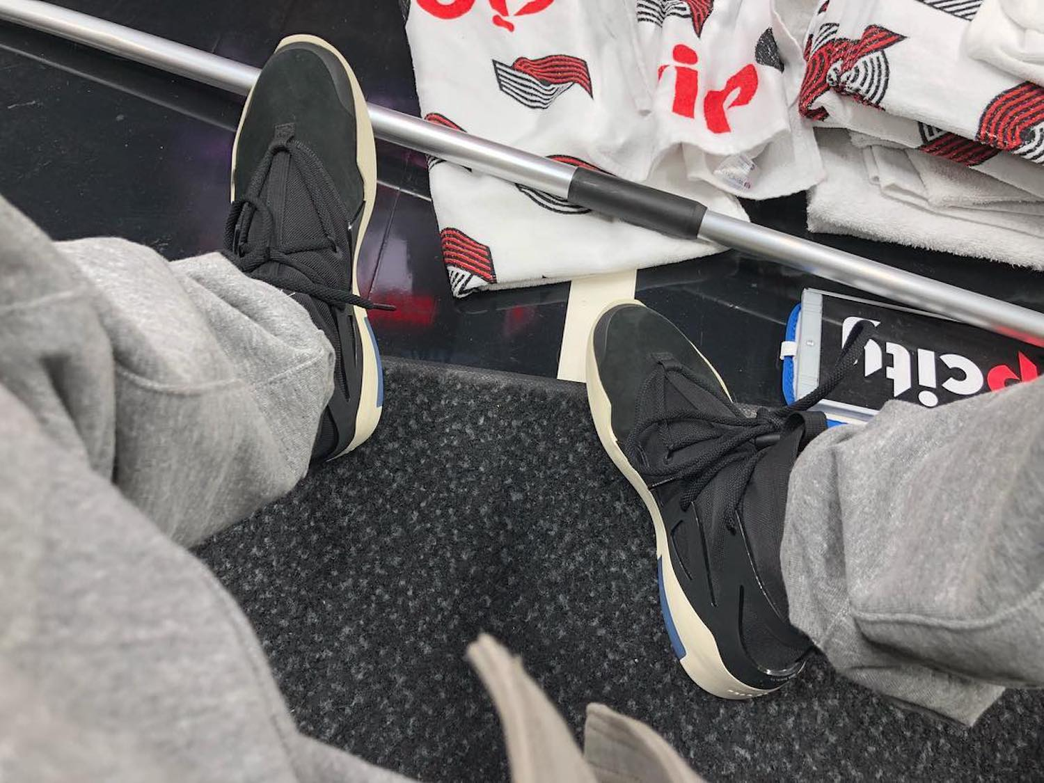 Jerry Lorenzo Gives us a Glimpse of Fear of God x Nike in Black