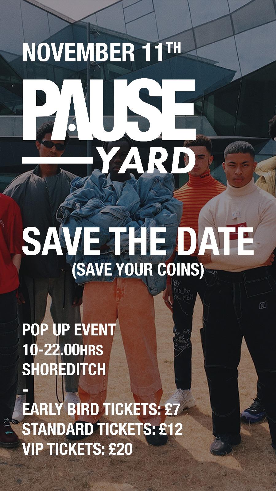 Introducing: PAUSE Yard