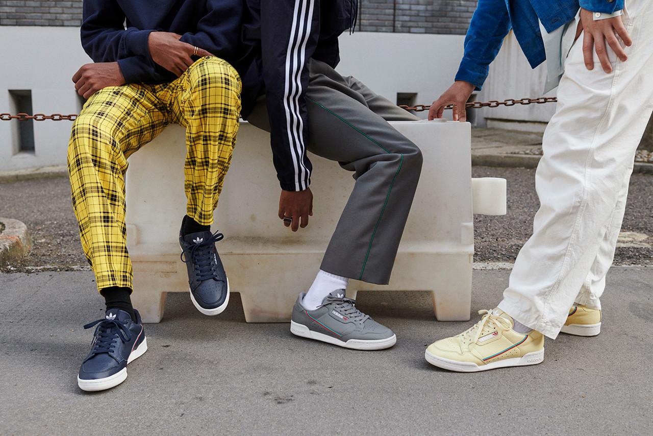 adidas Originals Continental 80 Sees Four New Colourways