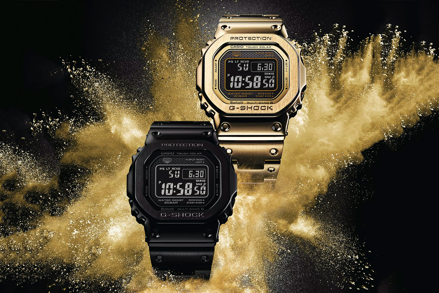 """New Models Are Set to Receive G-SHOCK's """"Full Metal"""" 5000 Collection Revamp"""