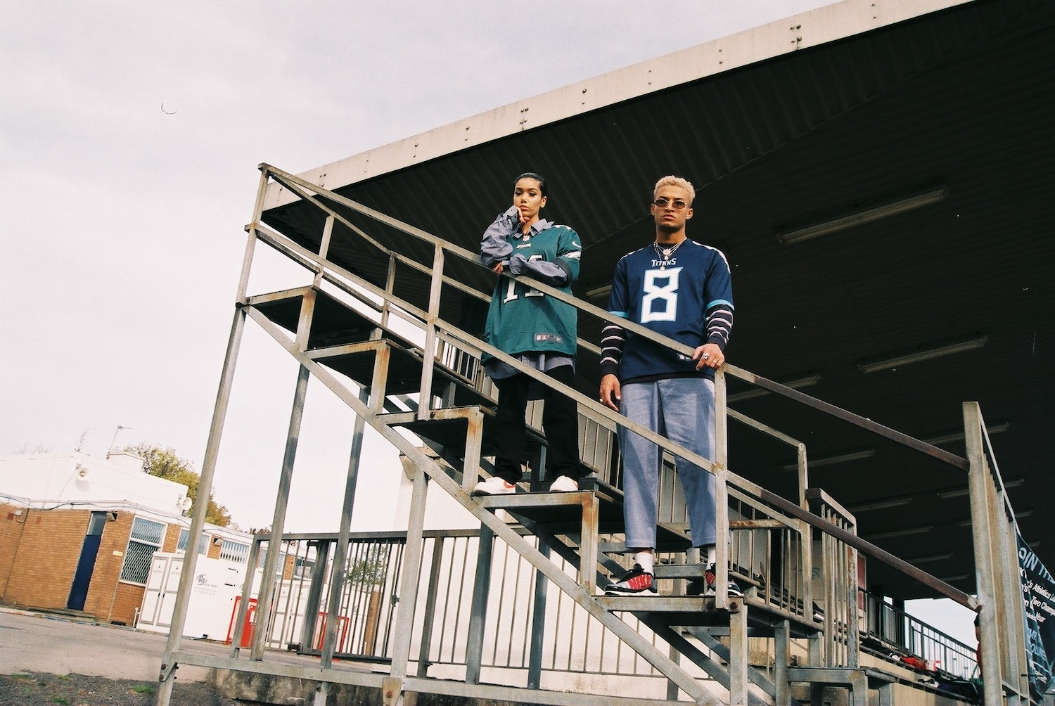 PAUSE x Nike NFL AW18 Editorial