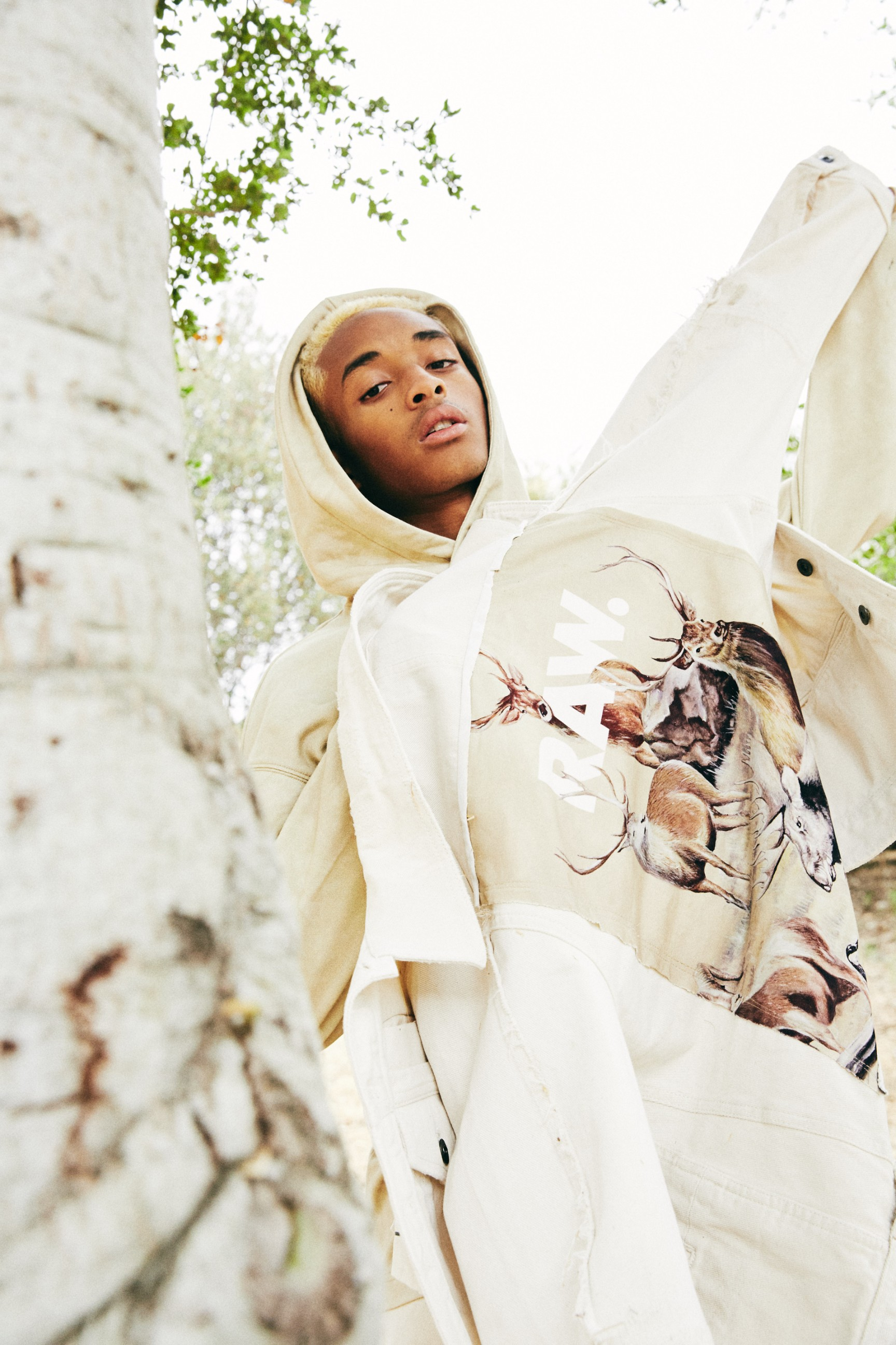 G-Star RAW and Jaden Smith Unveil their Collaborative 'Forces of Nature' Collection