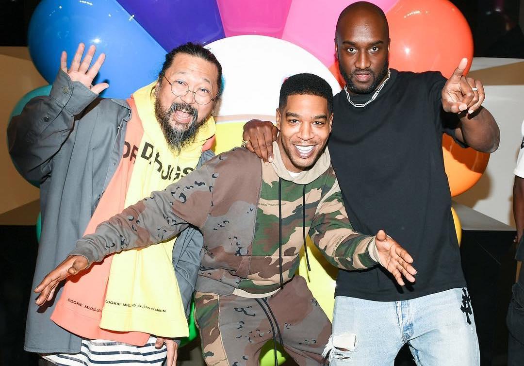 SPOTTED: Virgil Abloh, Kid Cudi & Takashi Murakami at the 'America Too' Launch