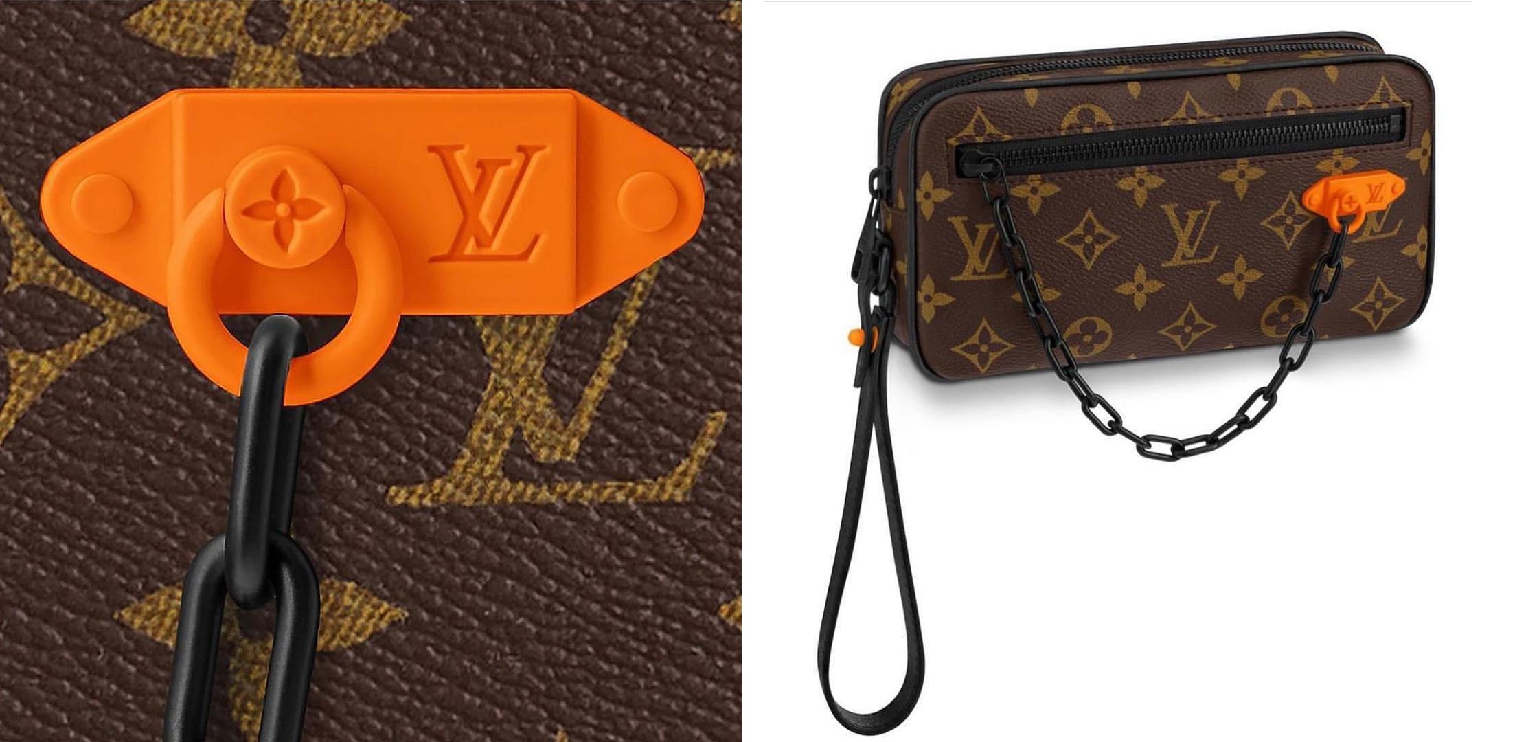 Virgil Abloh Shares a Closer Look at a Men's Louis Vuitton Signature Bag