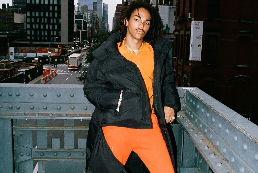 SPOTTED: Luka Sabbat Wrapped in Le Coq Sportif