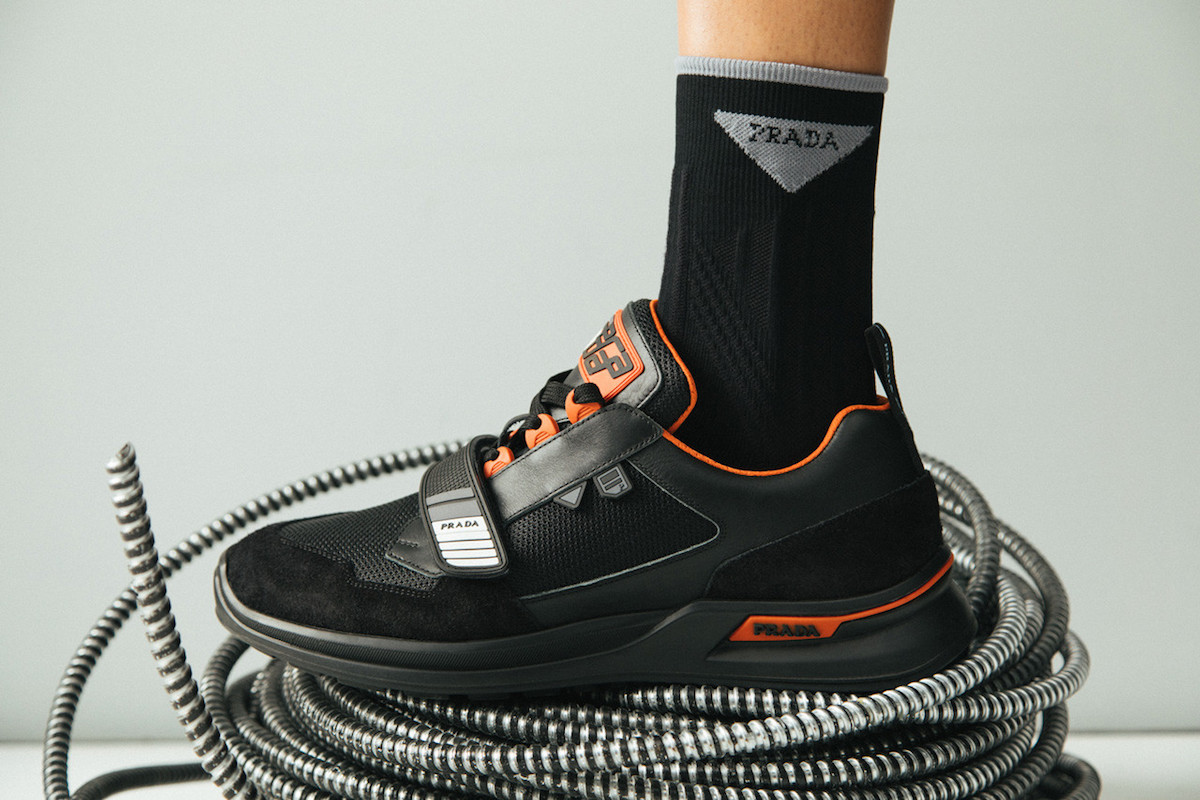 PAUSE or Skip: Prada's Chunky Mechano Sneaker
