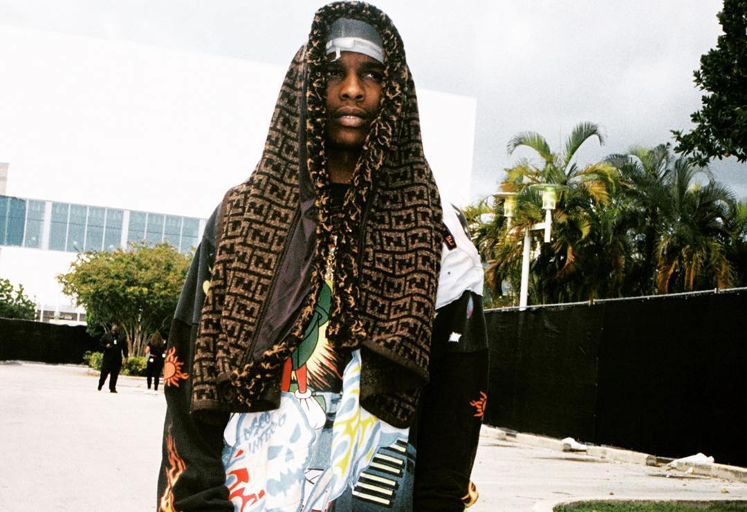 SPOTTED: A$AP Rocky Drapped in Fendi
