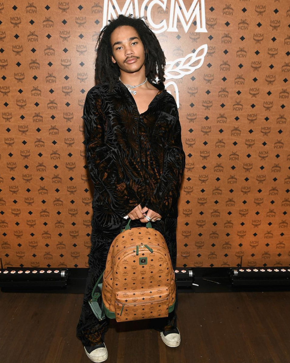 SPOTTED: Luka Sabbat Attends MCM Event at Chateau Marmont