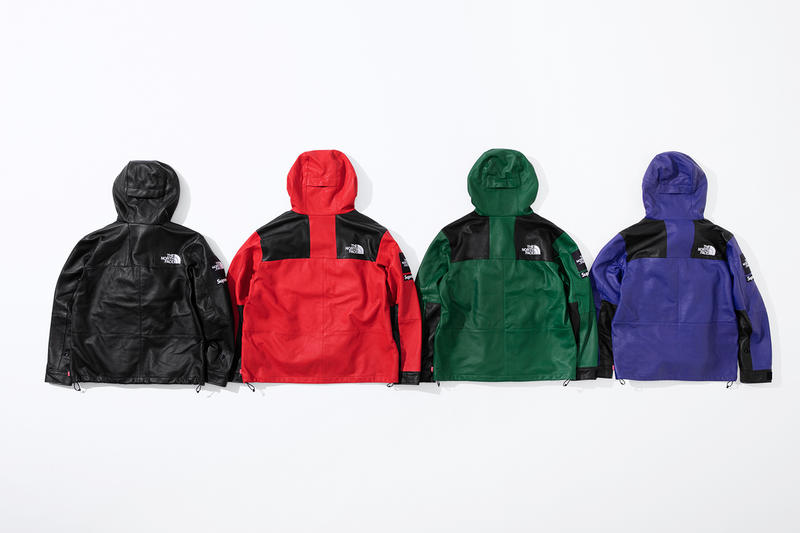 Supreme and The North Face Reveal Their Fall/Winter 2018 Lambskin Collection