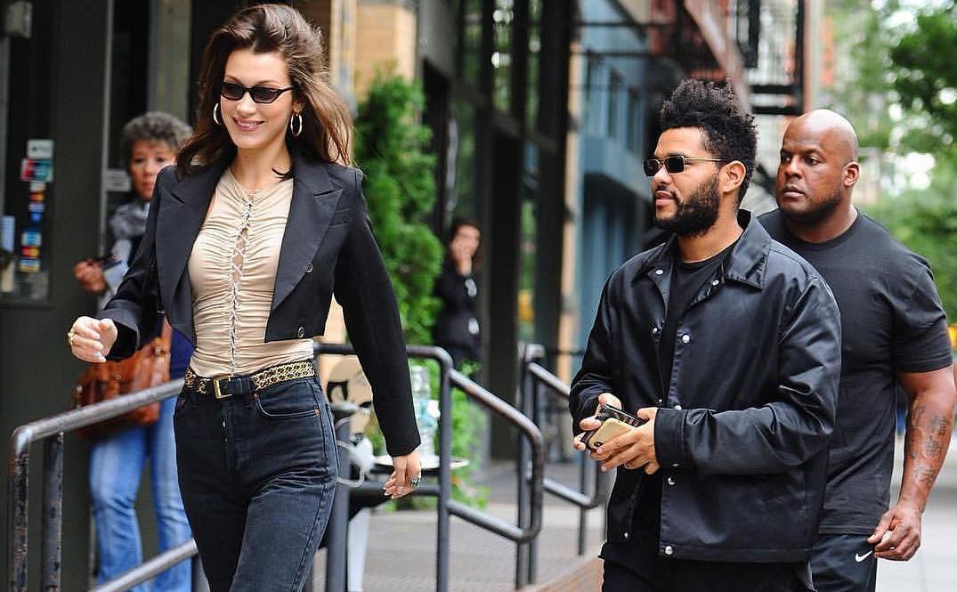 SPOTTED: The Weeknd & Bella Hadid Go All-Black