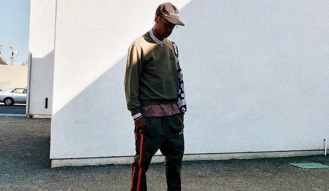 SPOTTED: Travis Scott in Astroworld Merch & Ready Made
