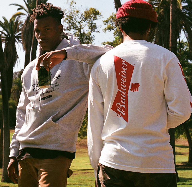UNDEFEATED & Budweiser Release Themed Capsule Collection