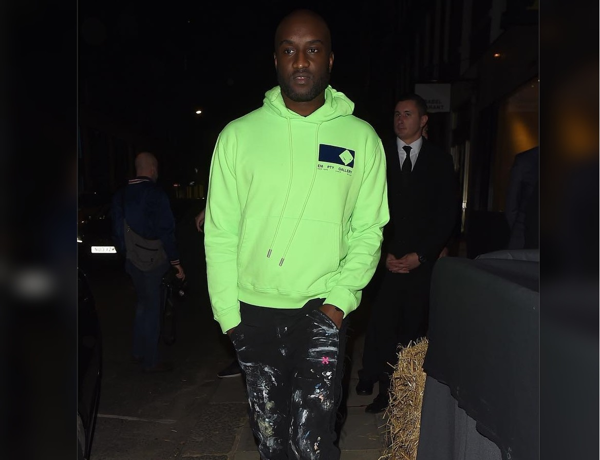 SPOTTED: Virgil Abloh Sports Off-White™ x EM PTY Gallery and Nike in London