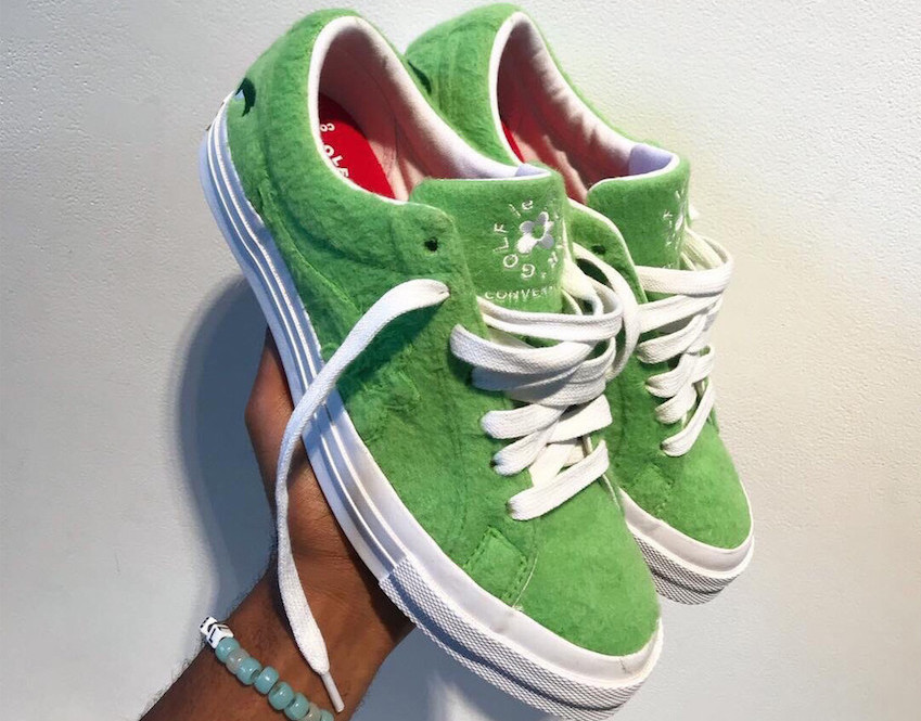 PAUSE or Skip: Tyler, the Creator's 'Grinch'-Inspired GOLF le FLEUR* x Converse Sneakers