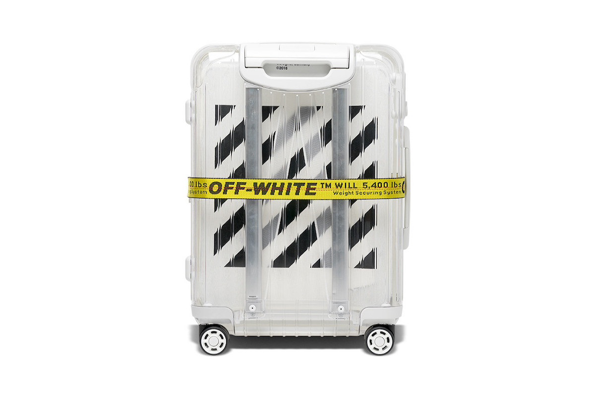 Off-White x RIMOWA Suitcase Collaboration Arrives Online