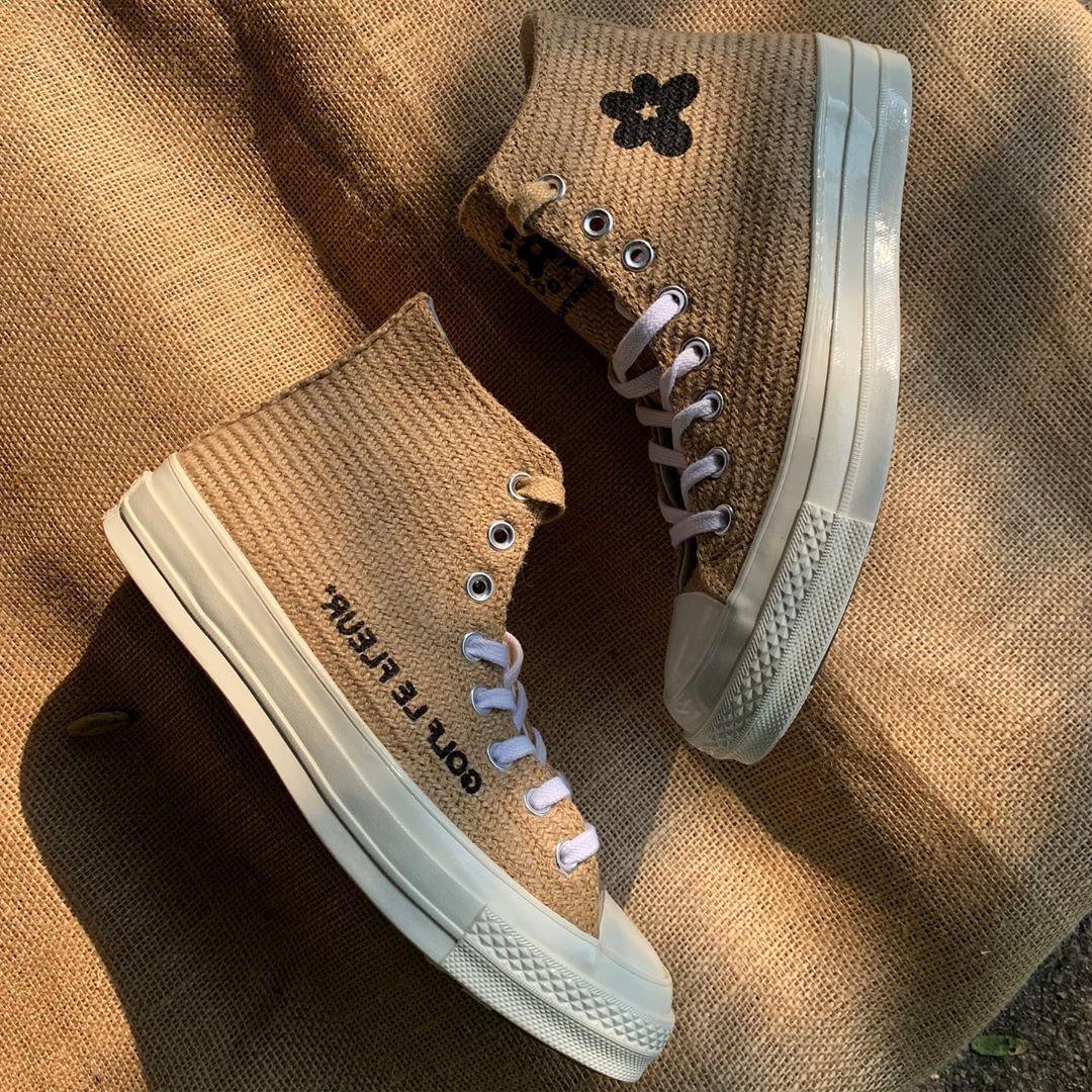 A Close Look At The Converse X Golf Le Fleur Burlap Pack Pause Online Men S Fashion Street Style Fashion News Streetwear