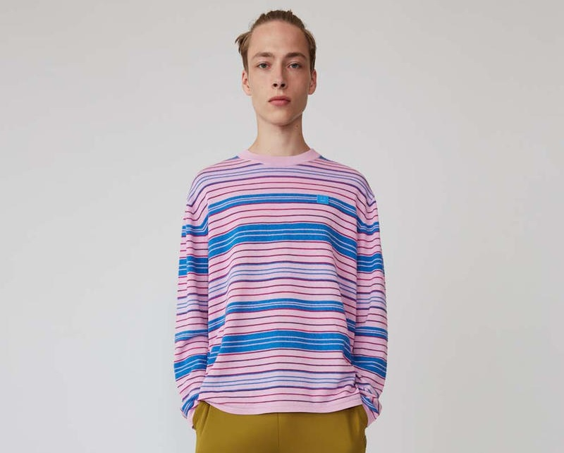 Acne Studios Goes Colourful for Their Third Face Motif Collection