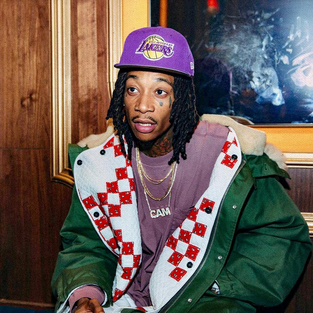 SPOTTED: Wiz Khalifa Wraps Up in Calvin Klein 205w39nyc and L.A. Lakers Merch