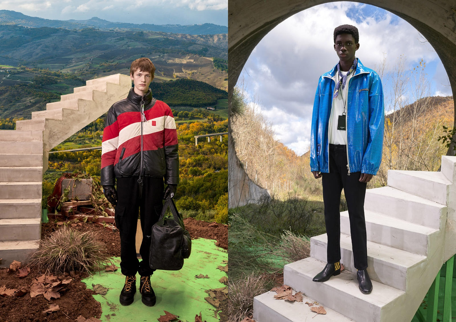 Virgil Abloh Turns to Unfinished Projects for Off-White™'s Pre Fall 2019 Imagery