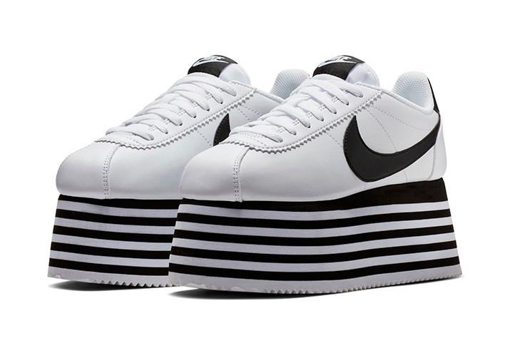 PAUSE or Skip: The COMME des GARÇONS x Nike Cortez Platform Sneaker
