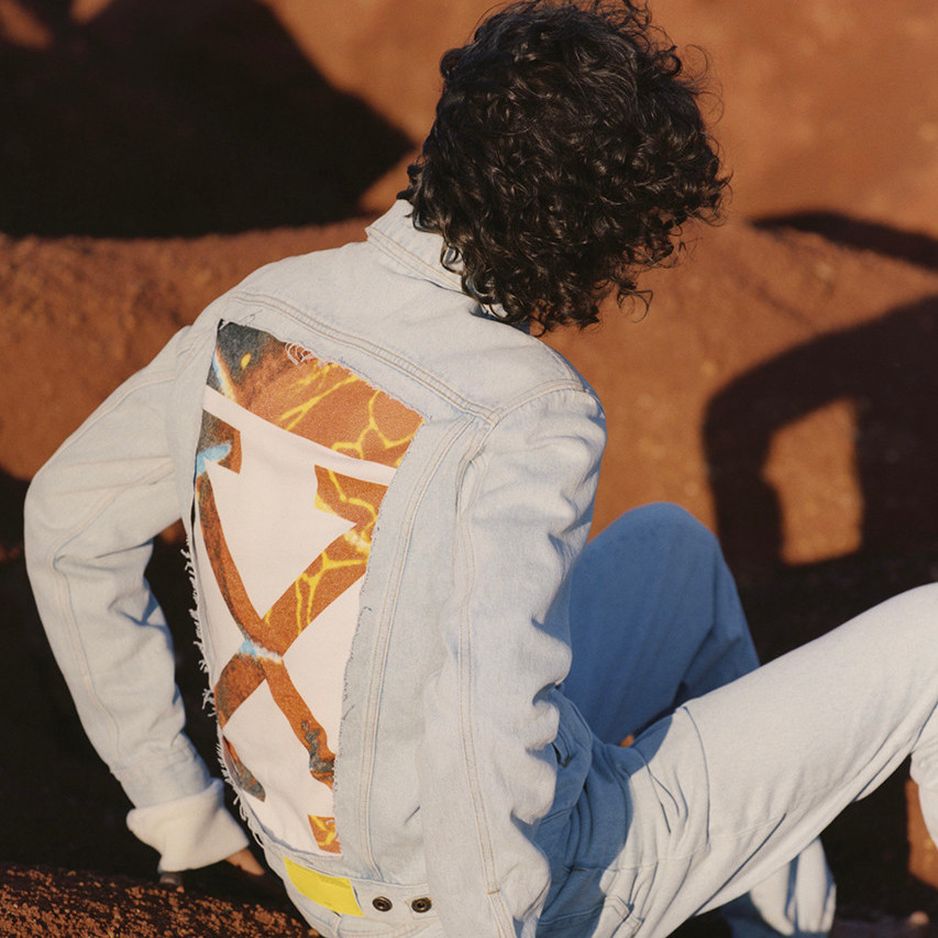 Off-White™ Highlights Cropped Cuts in Resort 2019 Denim Campaign