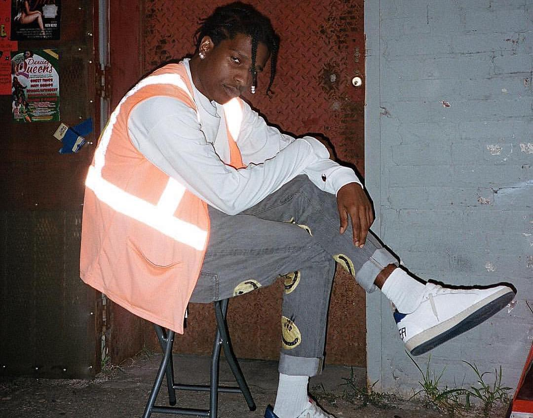 SPOTTED: ASAP Rocky Shines in Heron Preston & Cactus Plant Flea Market