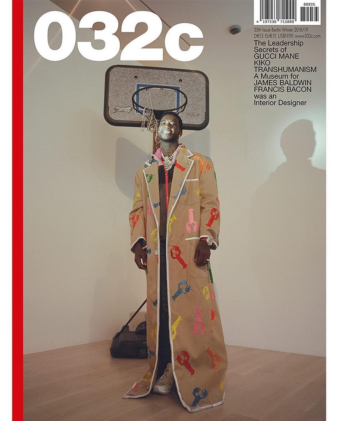SPOTTED: Gucci Mane covers 032c Magazine in Thom Browne