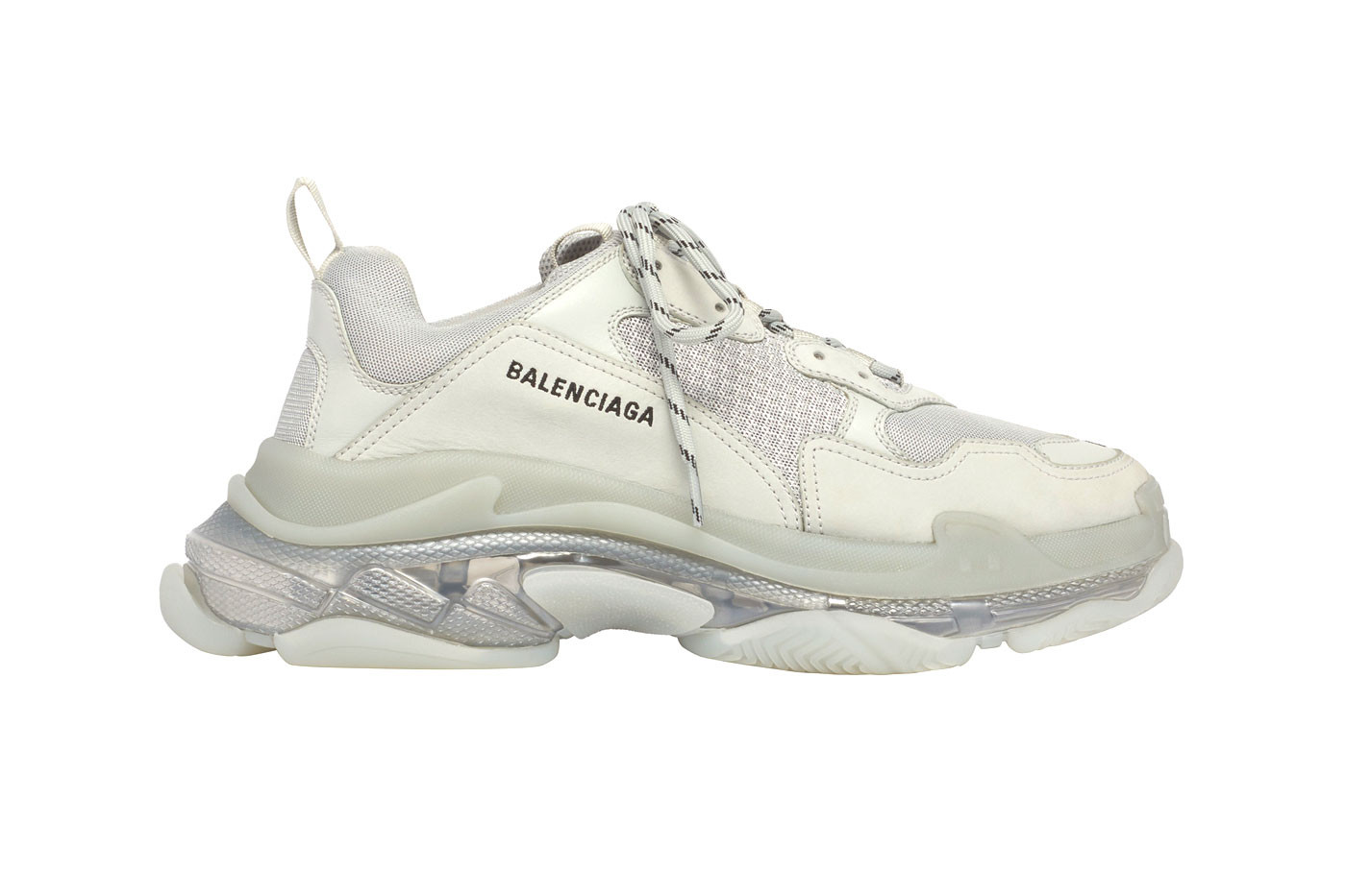 Balenciaga Revamps the Triple S Sneakers with Clear Air Unit