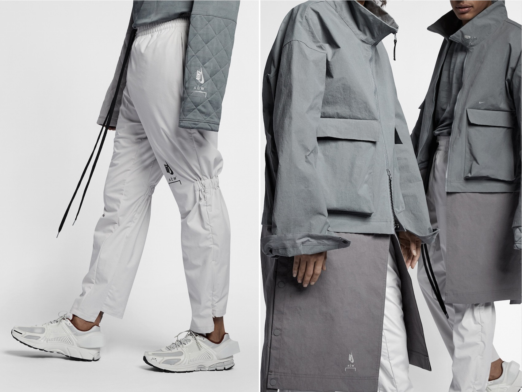 Samuel Ross Reveals Imagery of the A-COLD-WALL* x Nike Collaboration